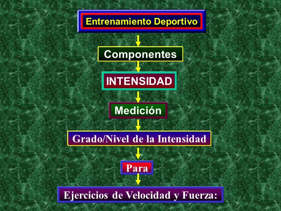 Grado/Nivel de la Intensidad