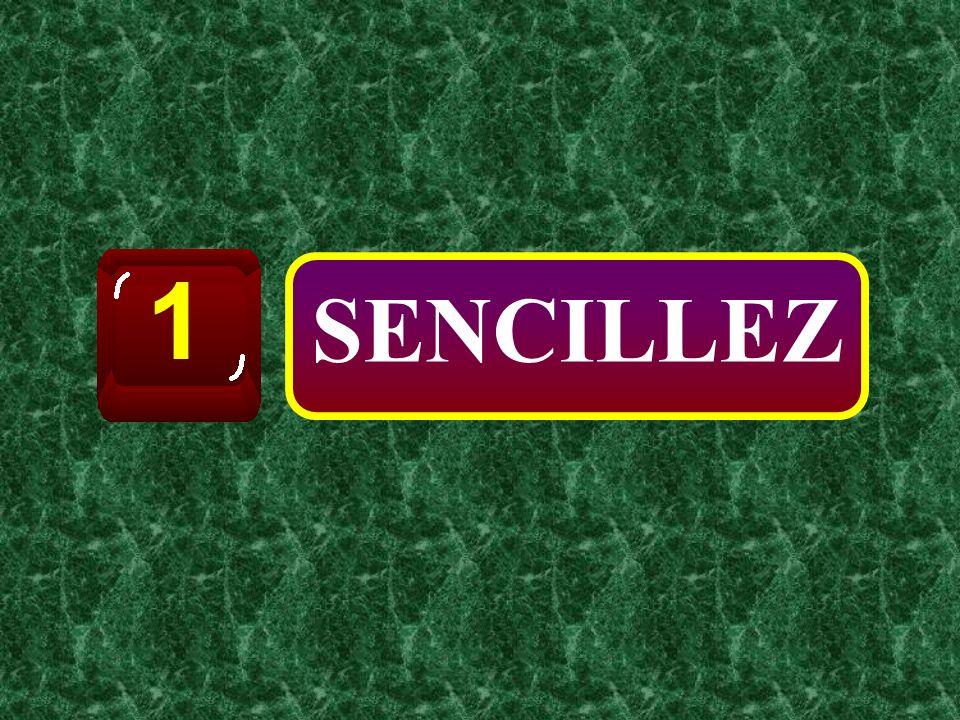 1 SENCILLEZ