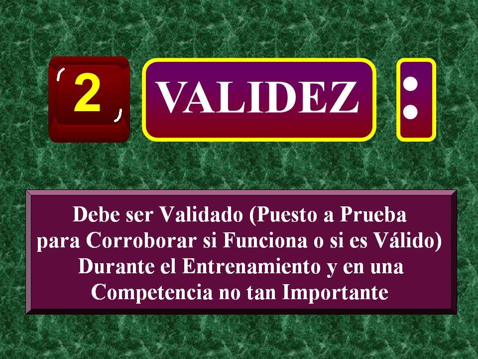 2 : VALIDEZ