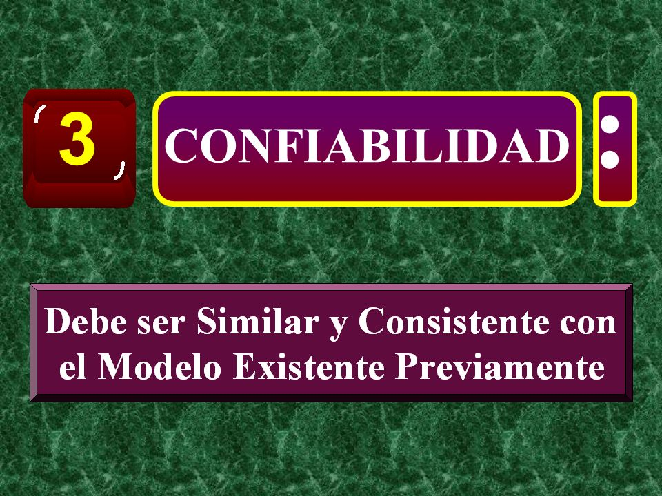 3 : CONFIABILIDAD