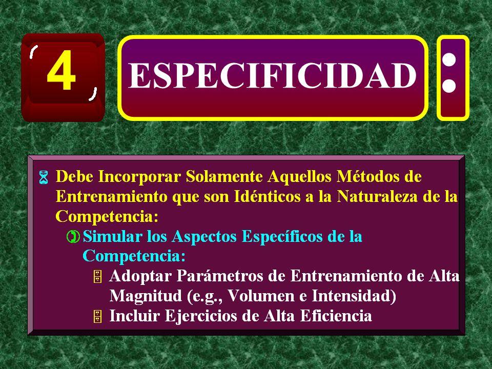 4 : ESPECIFICIDAD
