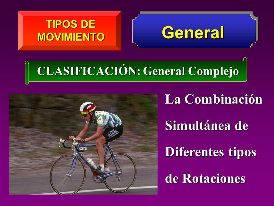 General La Combinación Simultánea de Diferentes tipos de Rotaciones