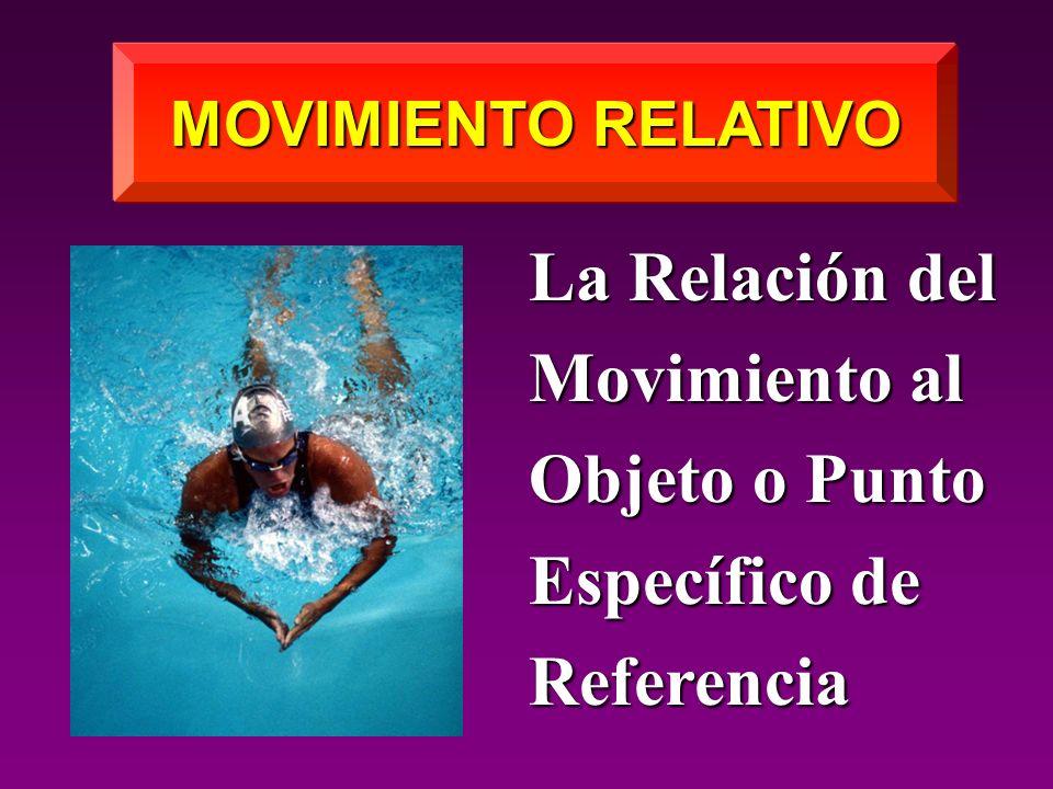 La Relación del Movimiento al Objeto o Punto Específico de Referencia