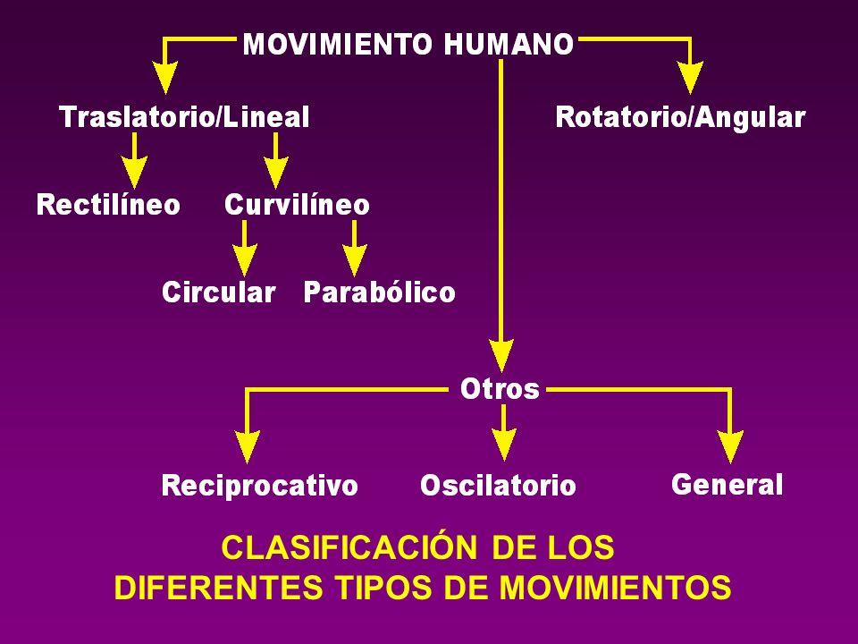 DIFERENTES TIPOS DE MOVIMIENTOS