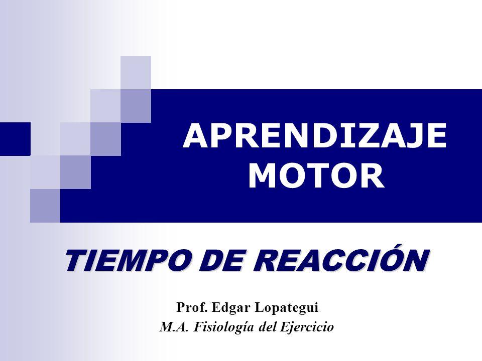 Prof. Edgar Lopategui M.A. Fisiología del Ejercicio