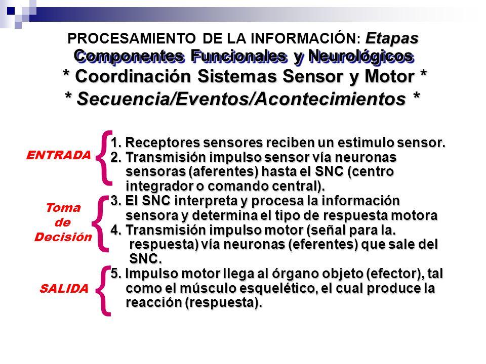 { { { * Secuencia/Eventos/Acontecimientos *