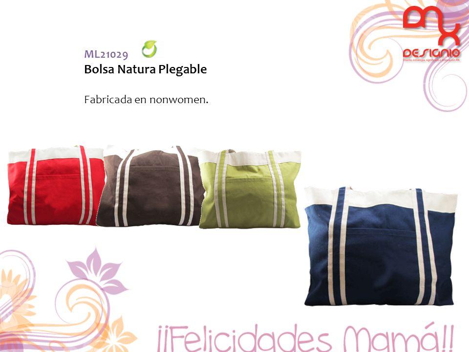 ML21029 Bolsa Natura Plegable Fabricada en nonwomen.