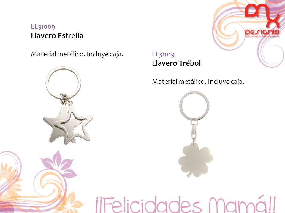 Llavero Estrella Llavero Trébol LL31009