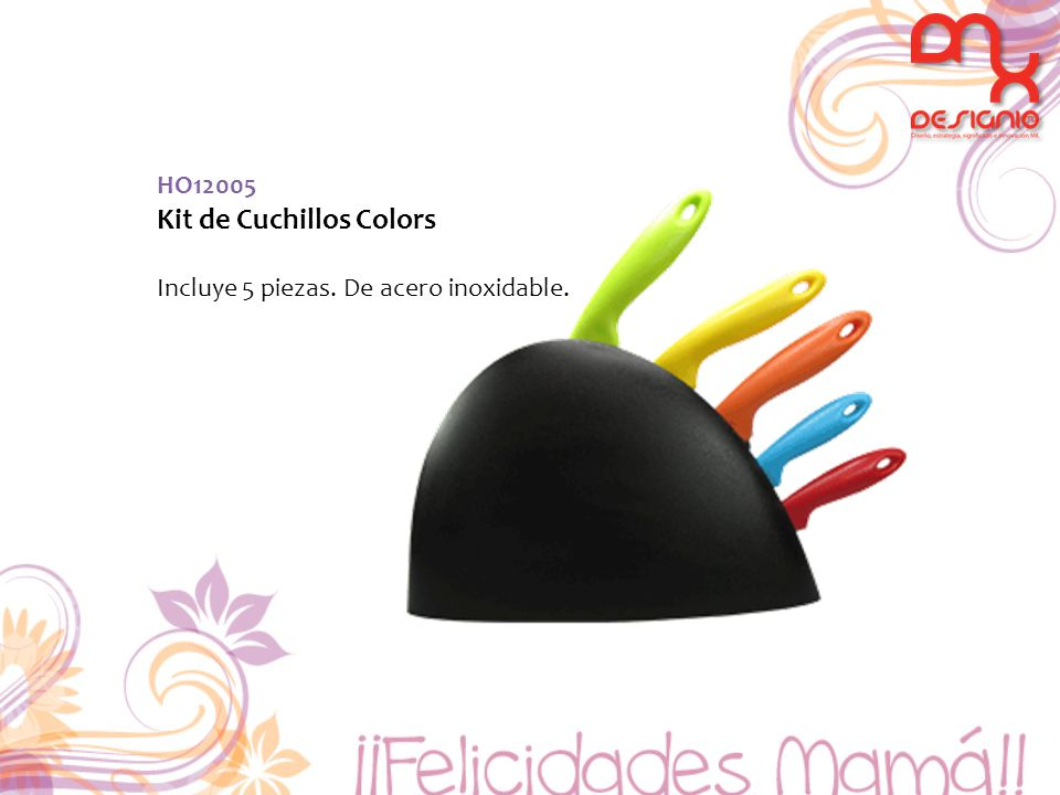 Kit de Cuchillos Colors