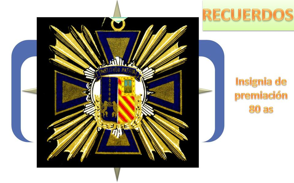 Insignia de premiación 80 as