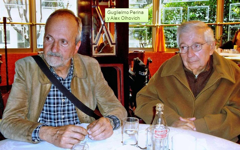 Guglielmo Perina y Alex Olhovich