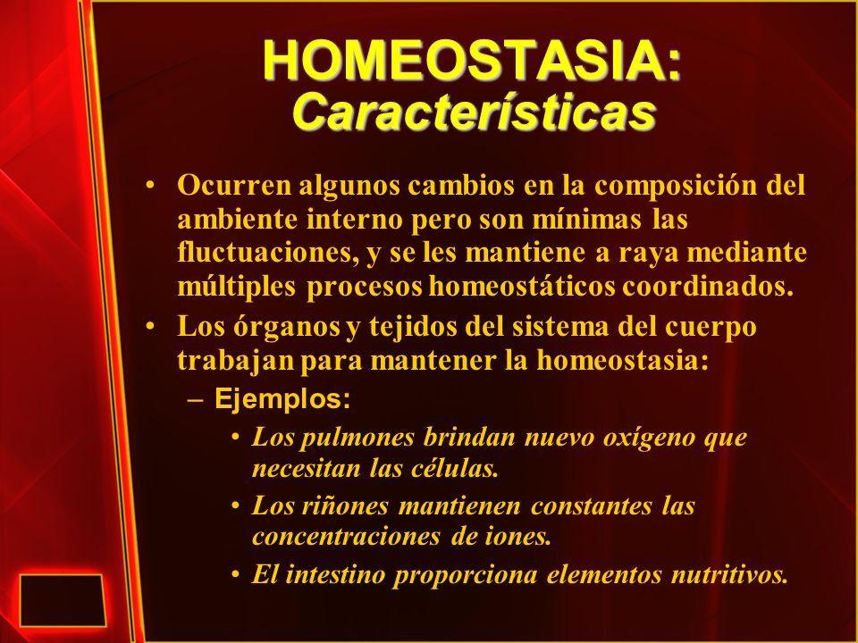 HOMEOSTASIA: Características