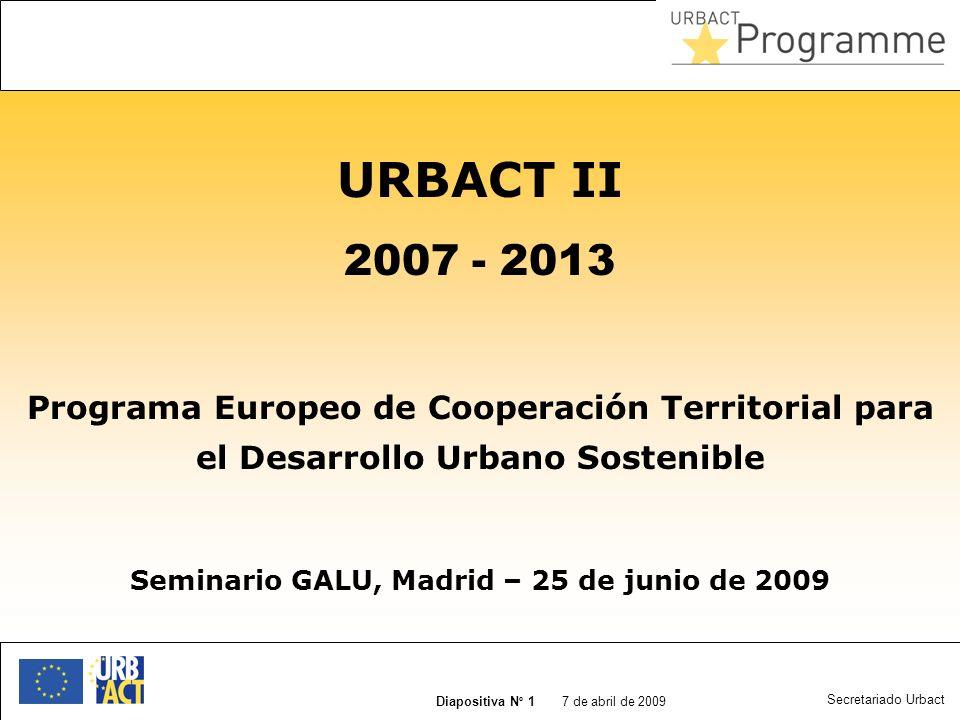 Seminario GALU, Madrid – 25 de junio de 2009