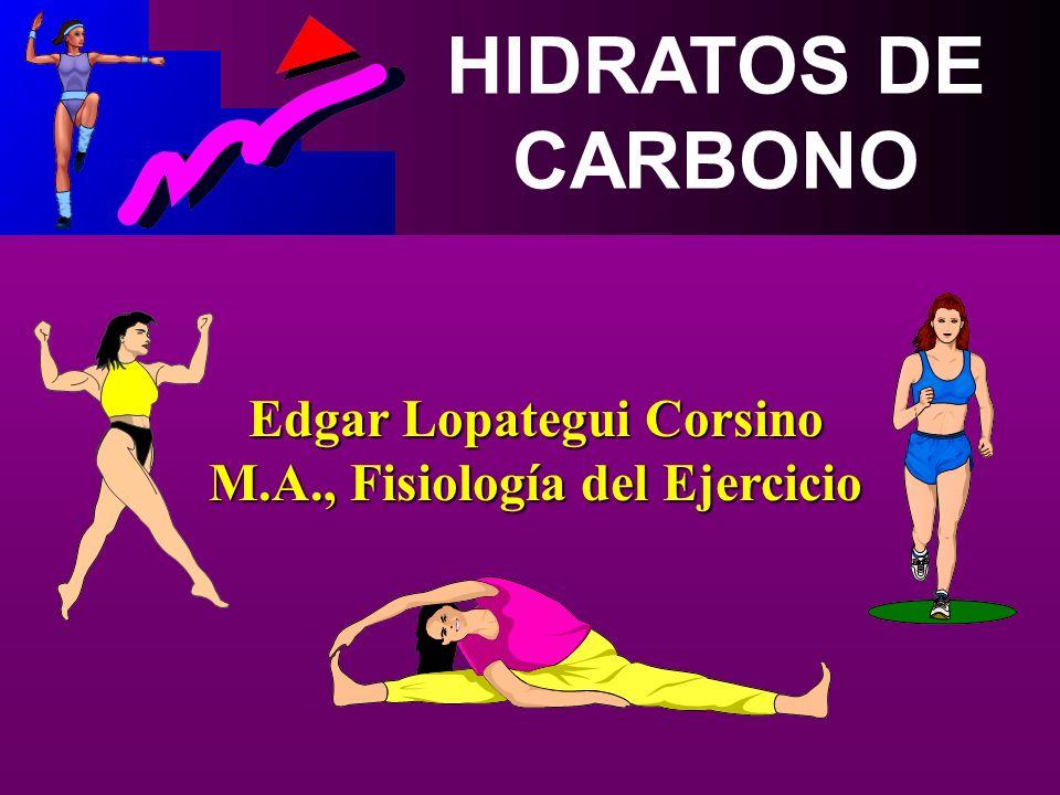 Edgar Lopategui Corsino M.A., Fisiología del Ejercicio
