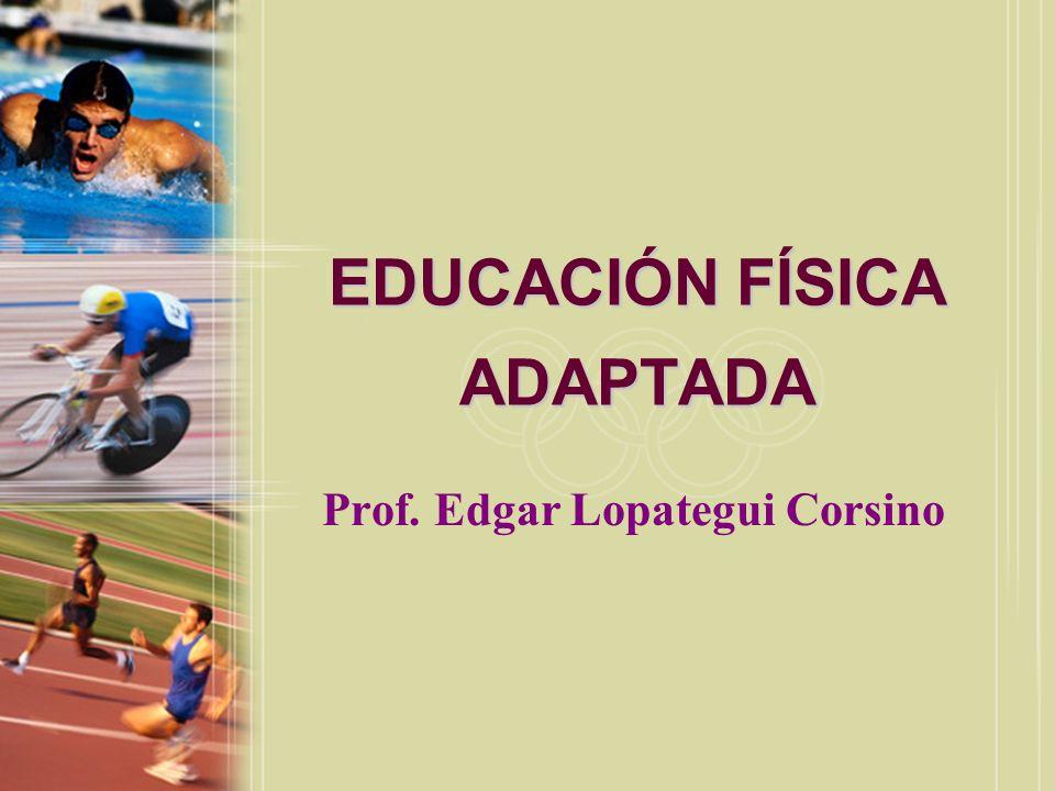 EDUCACIÓN FÍSICA ADAPTADA