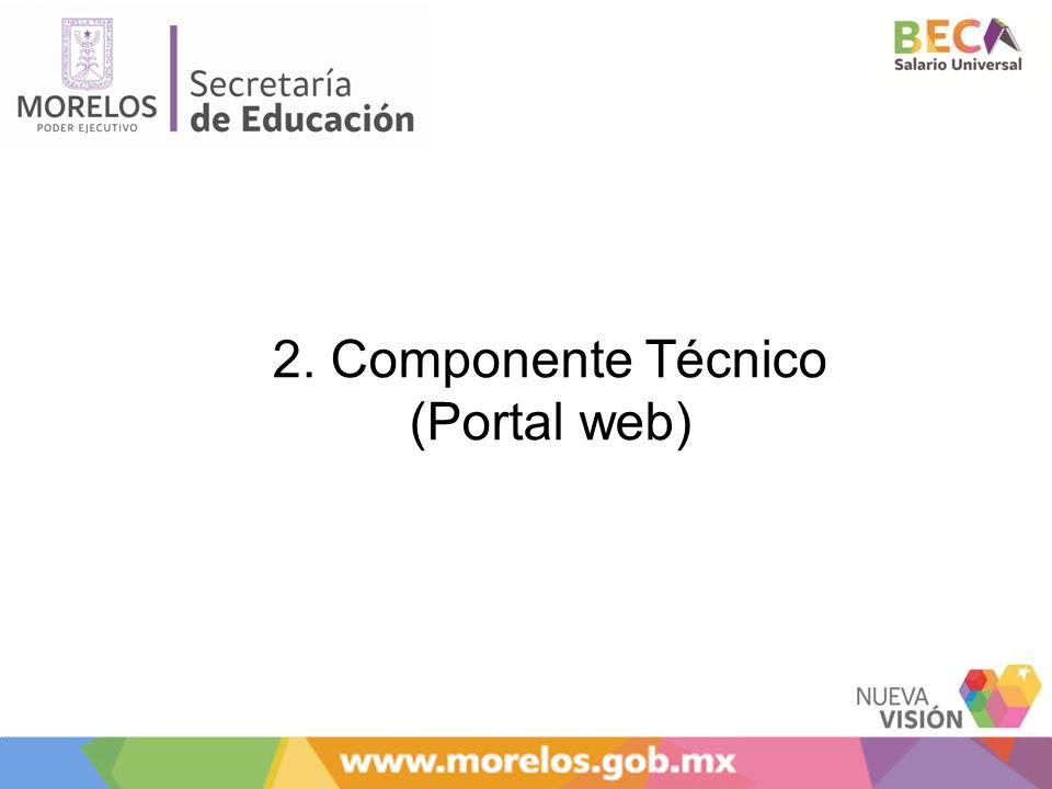 2. Componente Técnico (Portal web)
