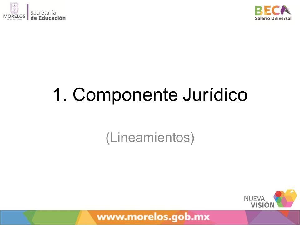 1. Componente Jurídico (Lineamientos)