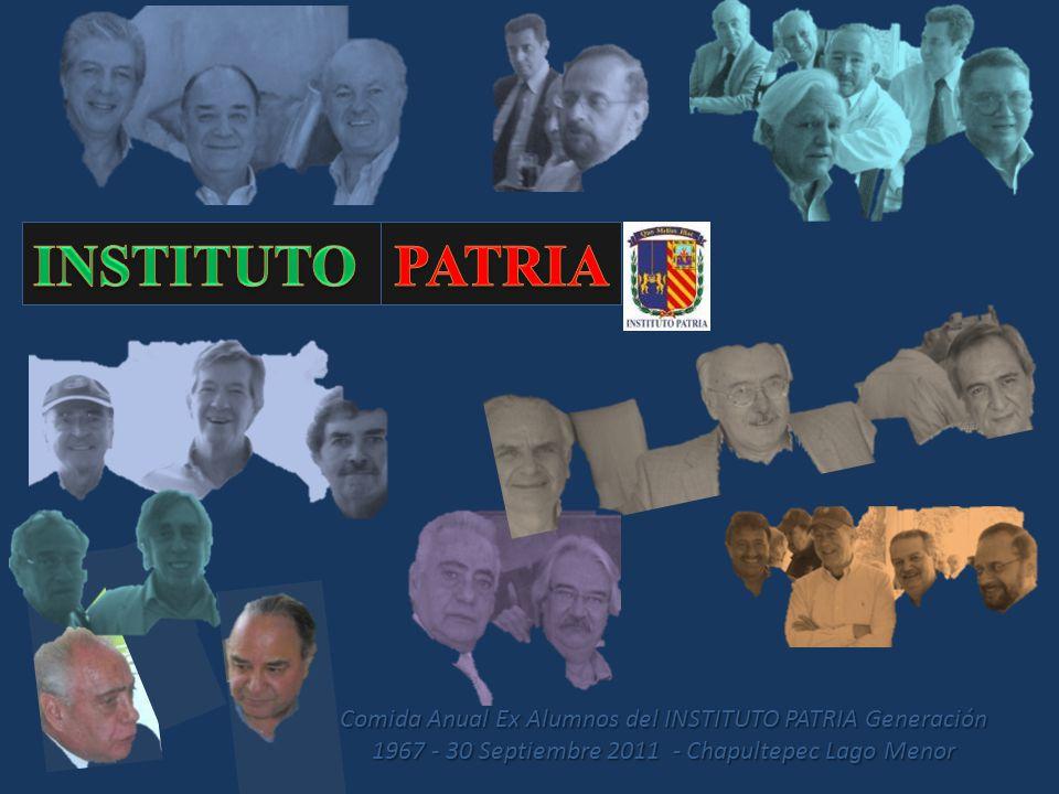 Álbum de fotografías INSTITUTO PATRIA