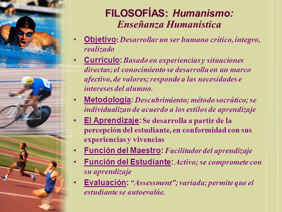 FILOSOFÍAS: Humanismo: Enseñanza Humanística