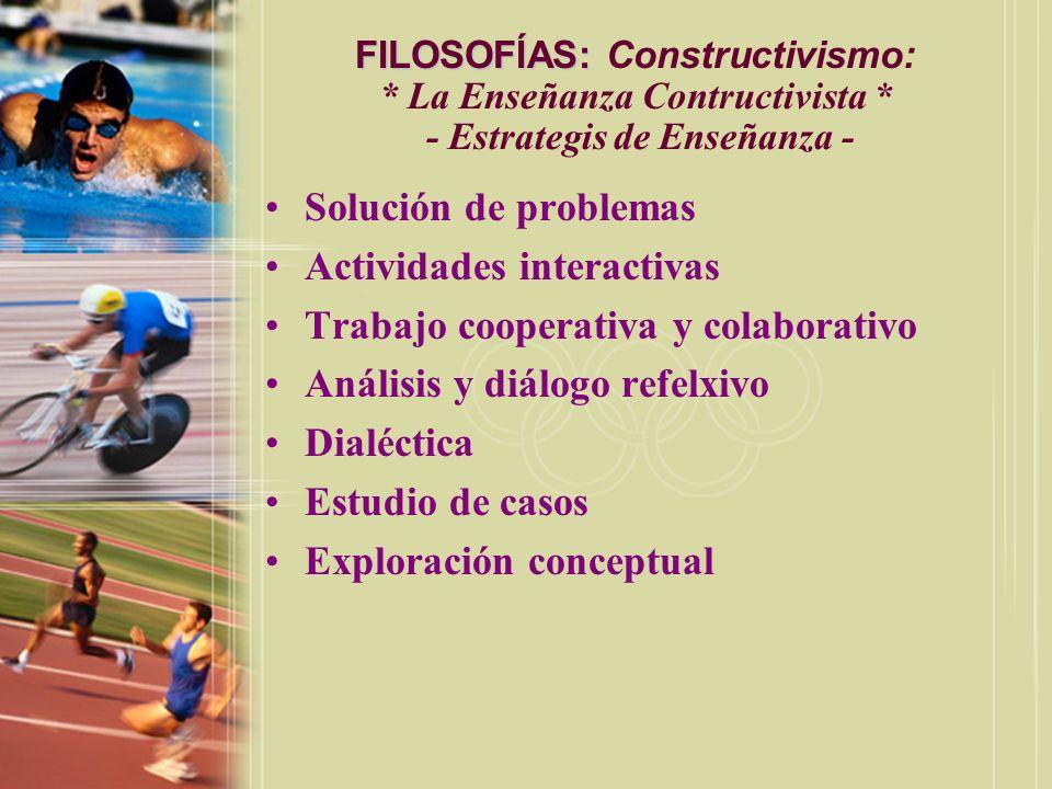 Actividades interactivas Trabajo cooperativa y colaborativo