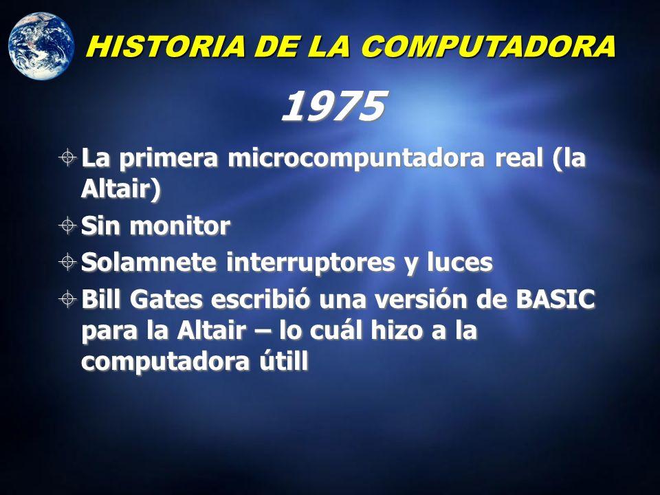 1975 HISTORIA DE LA COMPUTADORA