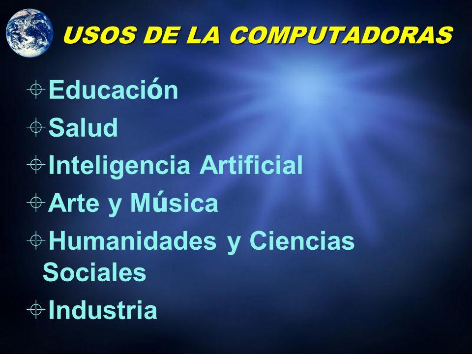 USOS DE LA COMPUTADORAS