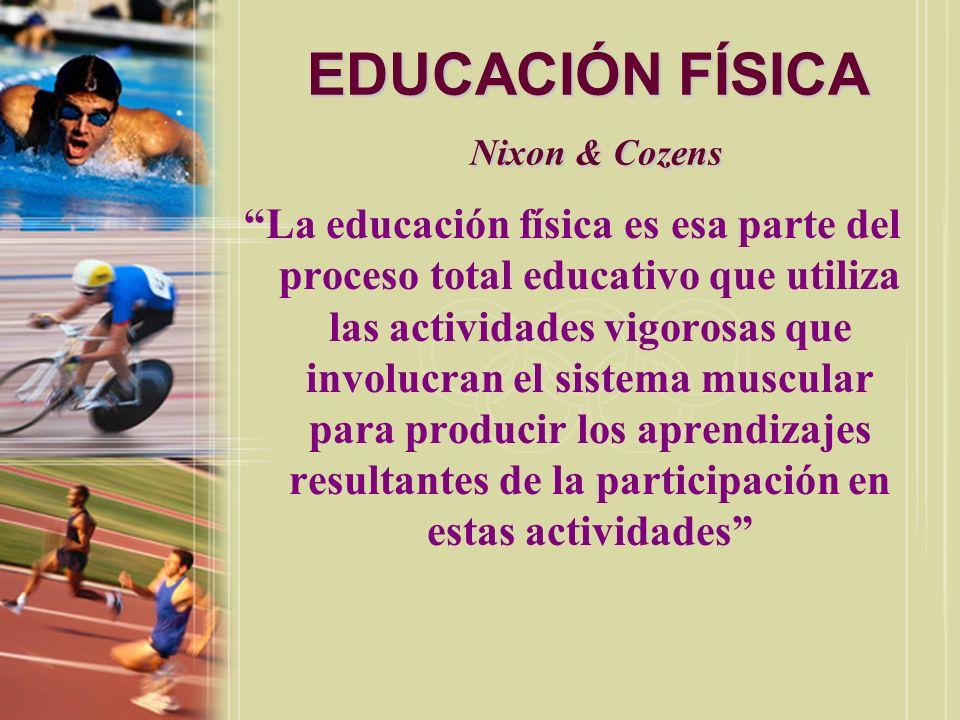 EDUCACIÓN FÍSICA Nixon & Cozens