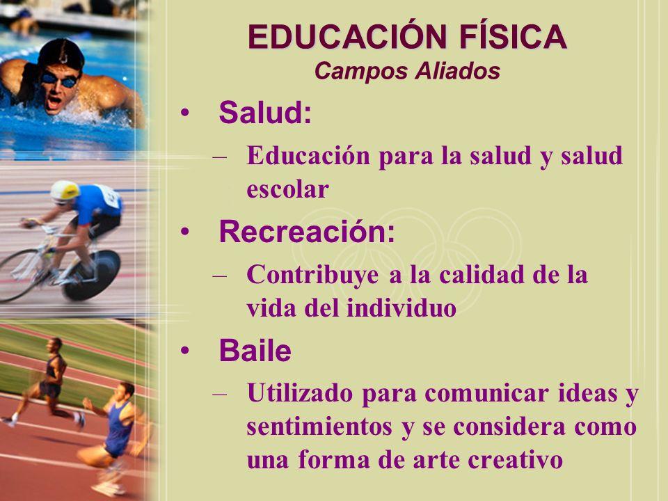 EDUCACIÓN FÍSICA Campos Aliados
