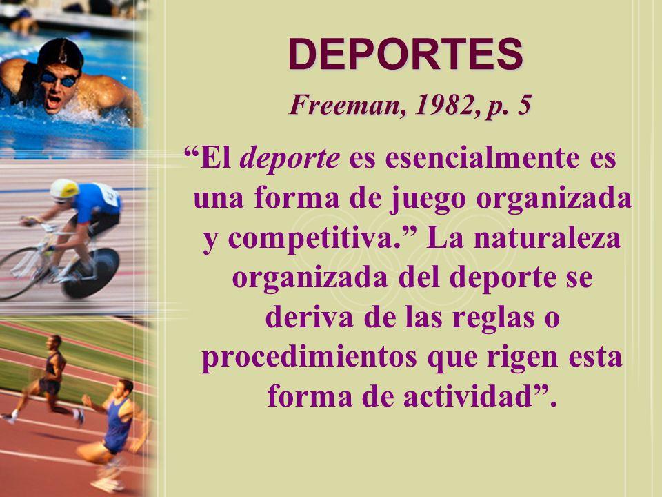 DEPORTES Freeman, 1982, p. 5