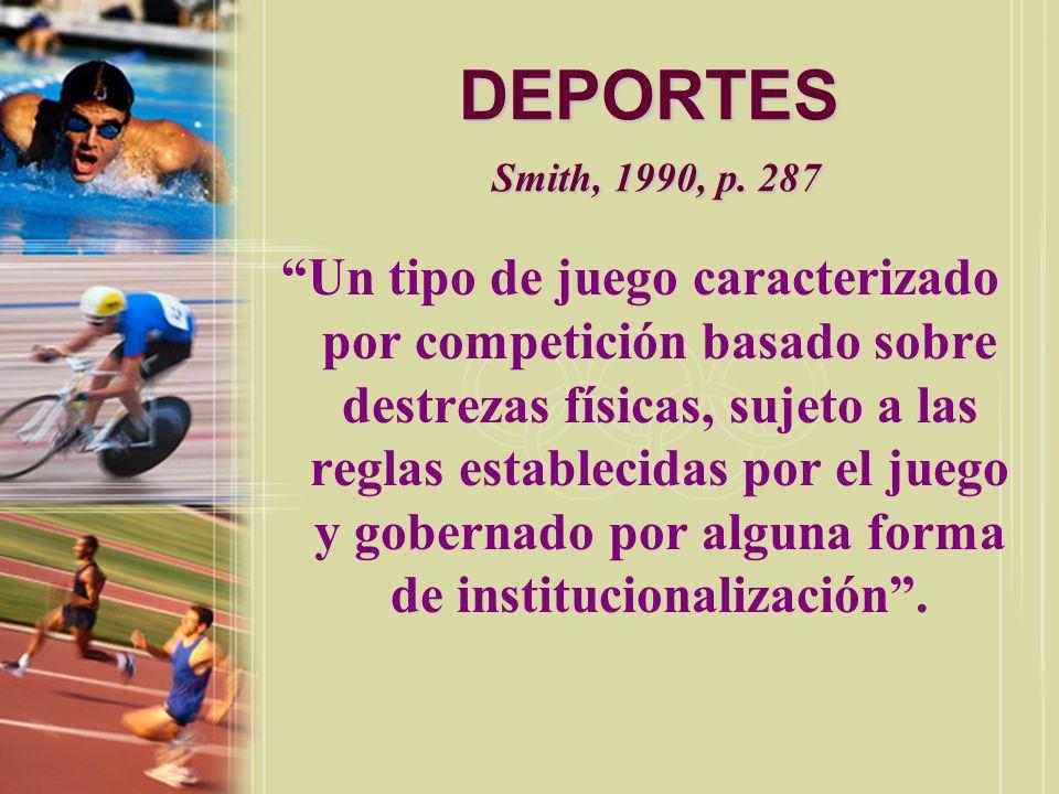 DEPORTES Smith, 1990, p. 287