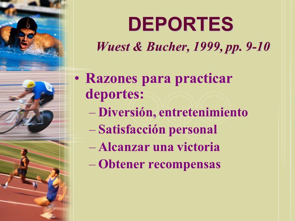 DEPORTES Wuest & Bucher, 1999, pp. 9-10