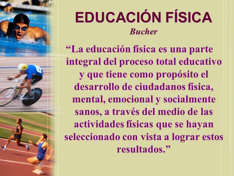 EDUCACIÓN FÍSICA Bucher