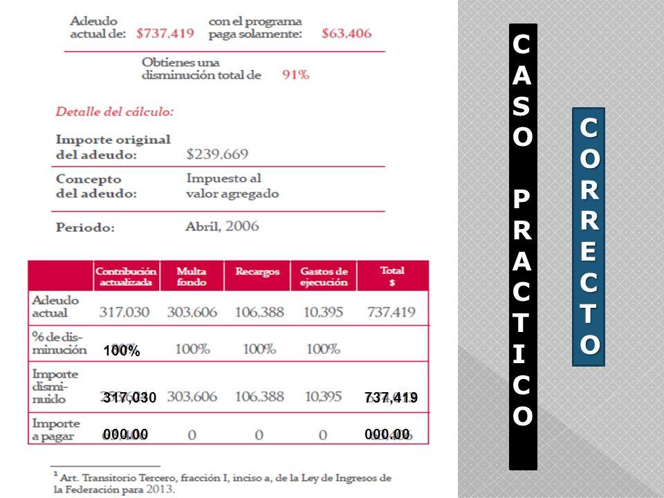 CASO PRACTICO CORRECTO 100% 317,030 737,419 000.00 000.00