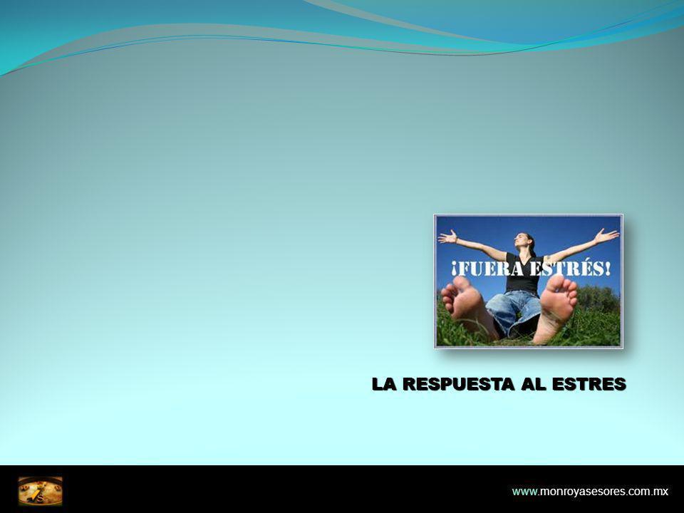 LA RESPUESTA AL ESTRES www.monroyasesores.com.mx