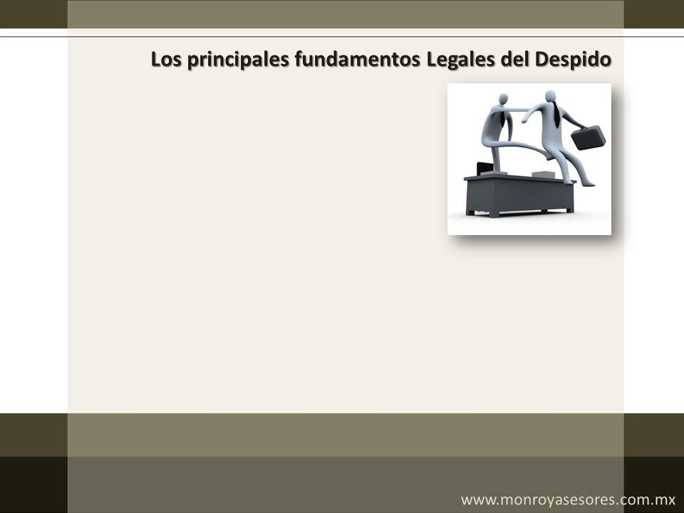 Los principales fundamentos Legales del Despido
