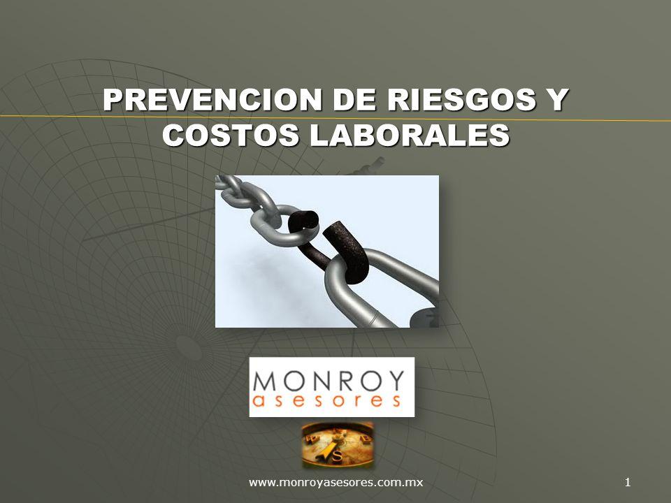 PREVENCION DE RIESGOS Y COSTOS LABORALES