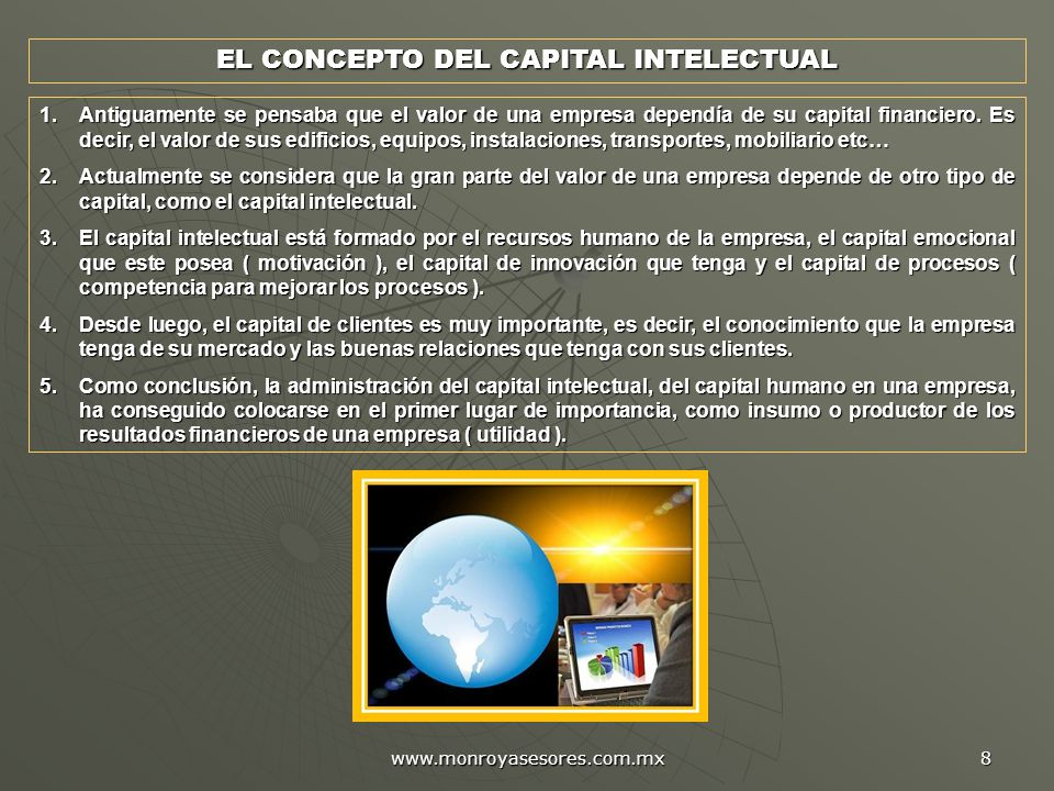 EL CONCEPTO DEL CAPITAL INTELECTUAL