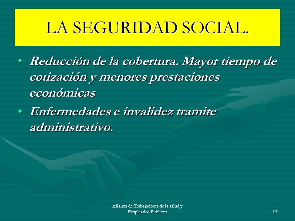 Alianza de Trabajadores de la salud y Empleados Publicos
