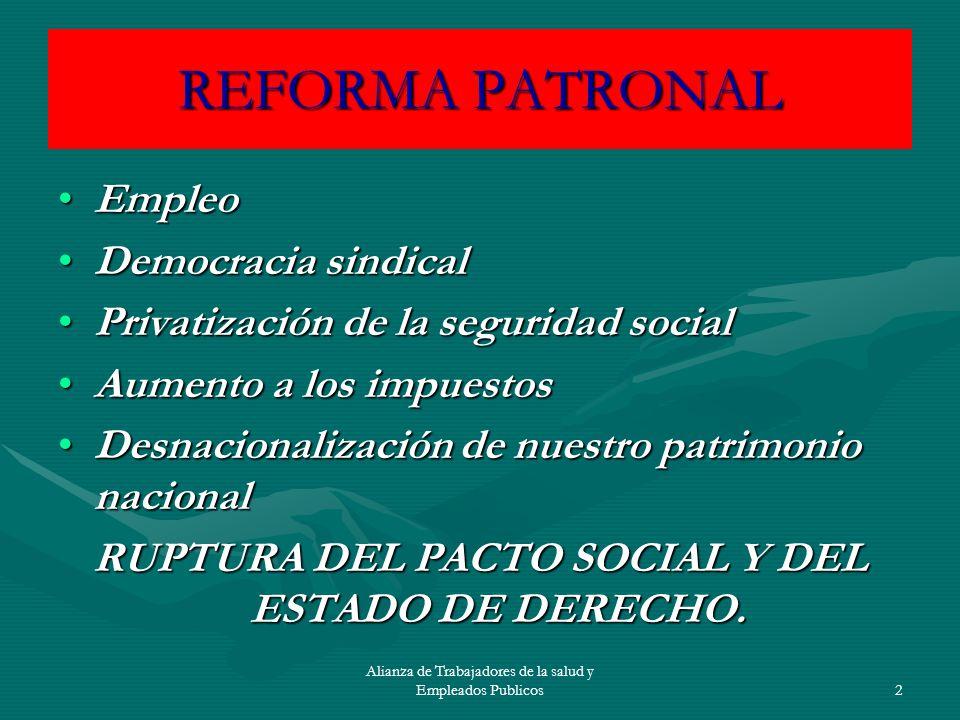 RUPTURA DEL PACTO SOCIAL Y DEL ESTADO DE DERECHO.