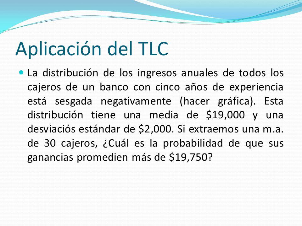 Aplicación del TLC