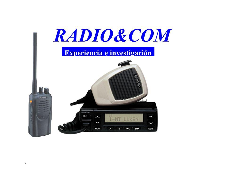 RADIO&COM Experiencia e investigación .