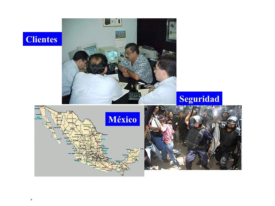 Clientes Seguridad México .