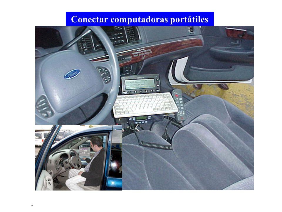 Conectar computadoras portátiles