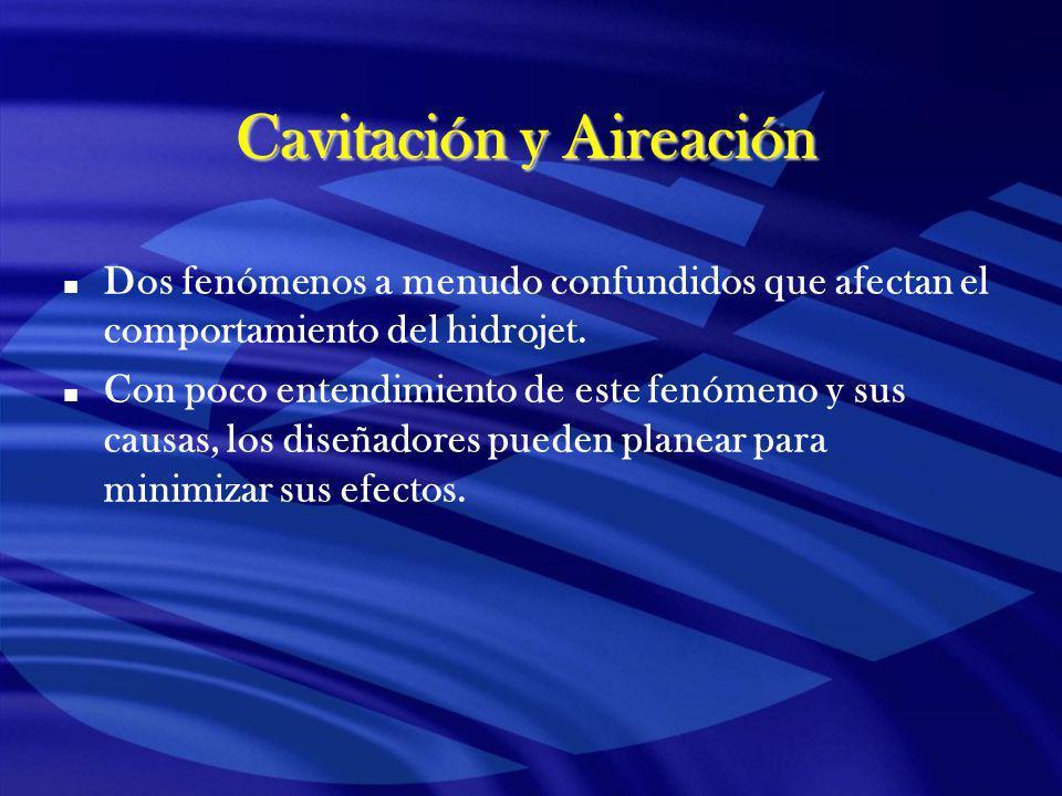 Cavitación y Aireación