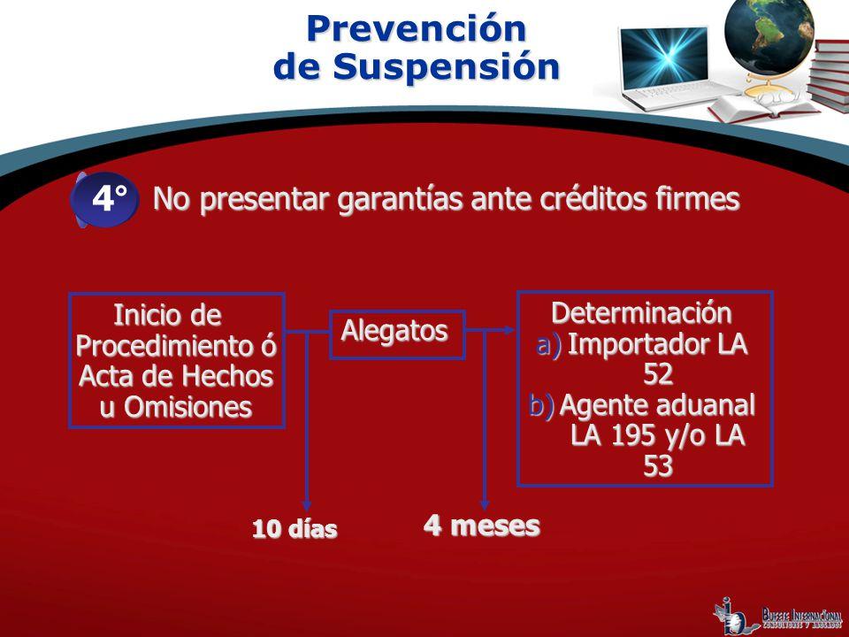 Prevención de Suspensión 4°