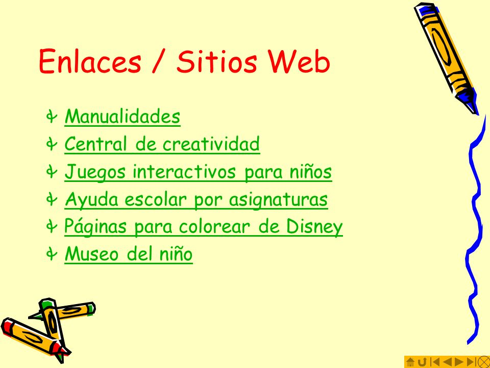 Enlaces / Sitios Web Manualidades Central de creatividad