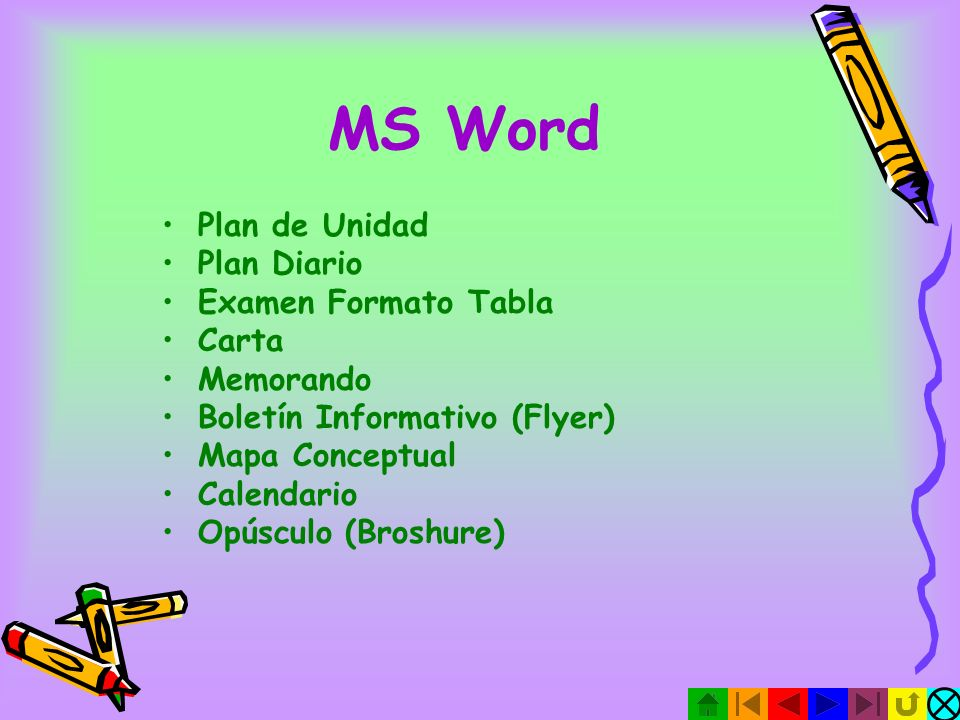 MS Word Plan de Unidad Plan Diario Examen Formato Tabla Carta