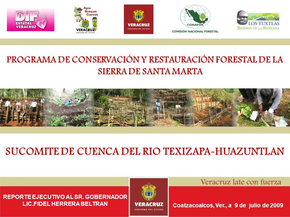 SUCOMITE DE CUENCA DEL RIO TEXIZAPA-HUAZUNTLAN