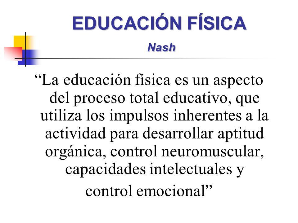 EDUCACIÓN FÍSICA Nash