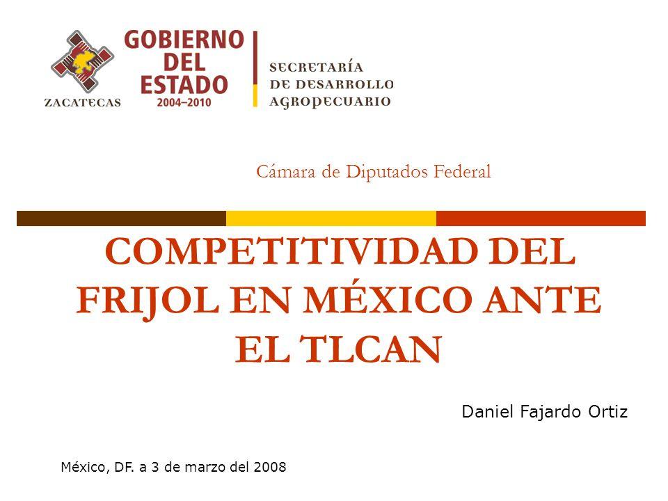 COMPETITIVIDAD DEL FRIJOL EN MÉXICO ANTE EL TLCAN